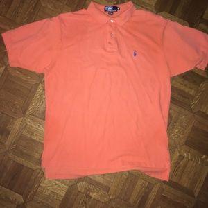 Ralph Lauren Polo Orange Golf Shirt XL